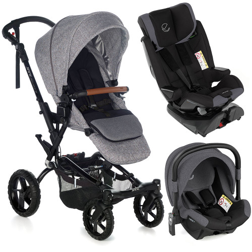 Jane Crosswalk R Groowy Nest Travel System - Squared
