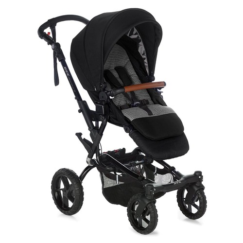 Jane Crosswalk R Groowy Nest Travel System - Jet Black
