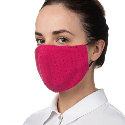 Noordi Reusable Adult Face Mask - Raspberry
