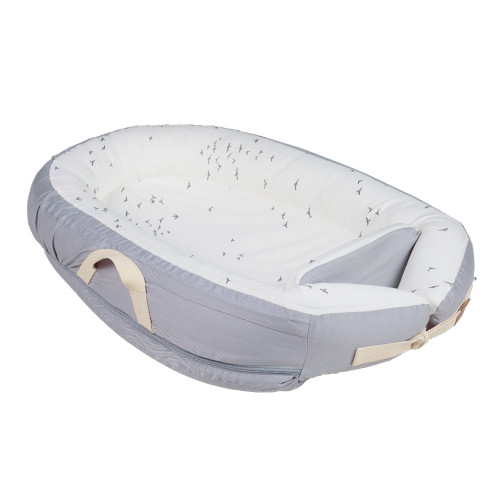 Voksi Baby Nest Premium - Grey Flying