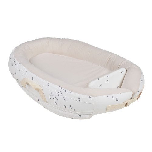 Voksi Baby Nest Premium - White Flying