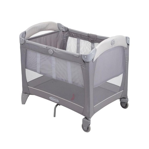 Graco Contour Travel Cot with Bassinet - Paloma