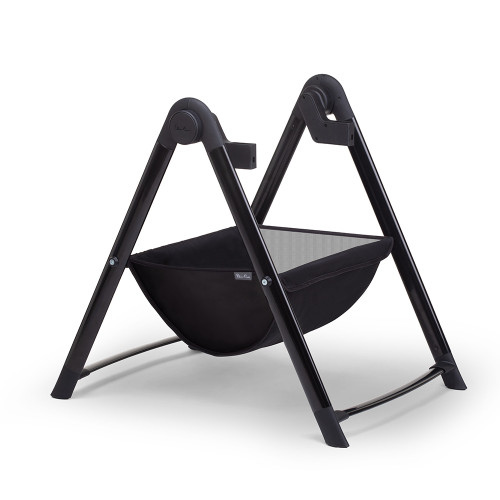 Silver Cross Wave Carrycot Stand - Black