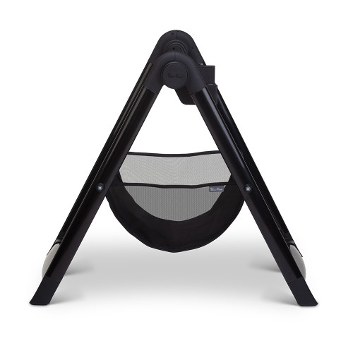 Silver Cross Wave Carrycot Stand - Black (side)