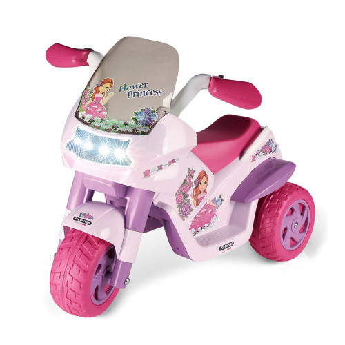 Peg Perego Flower Princess 6V Battery Operated Motorbike