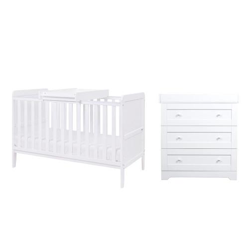 Tutti Bambini Rio 2 Piece Room Set - White