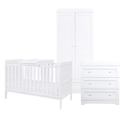 Tutti Bambini Rio 3 Piece Room Set - White