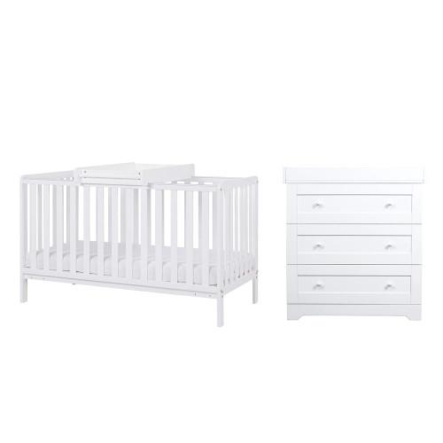 Tutti Bambini Malmo 2 Piece Room Set - White