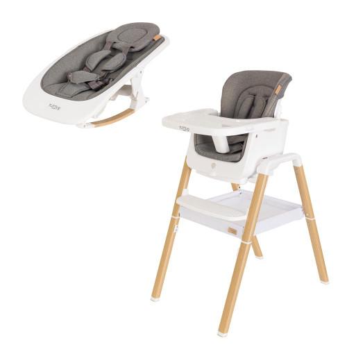 Tutti Bambini Nova Complete Set - White/Oak