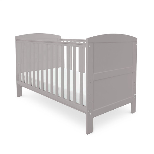 Ickle Bubba Coleby Cot Bed - Grey