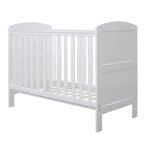 Ickle Bubba Coleby Mini Cot Bed - White