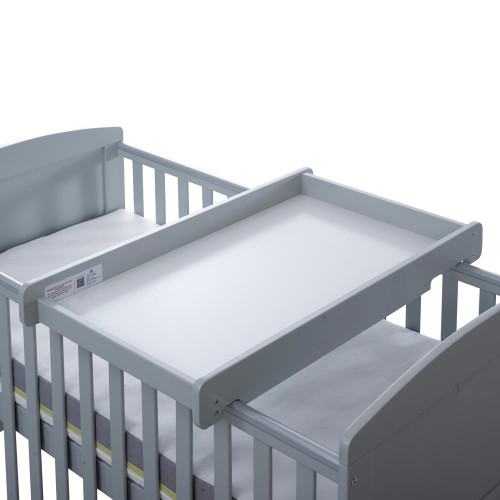 Ickle Bubba Cot Top Changer - Grey