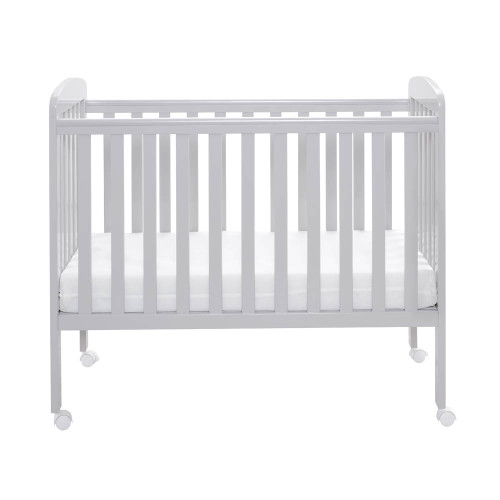 Babymore Space Saver Cot - Grey
