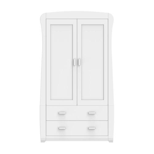 Babymore Bel Wardrobe - White