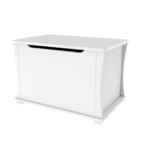 Babymore Bel Toy Chest - White