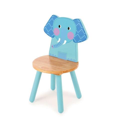 Tidlo Wooden Chair - Elephant
