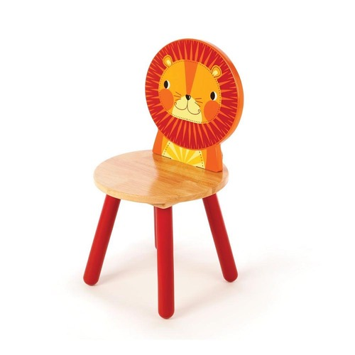 Tidlo Wooden Chair - Lion