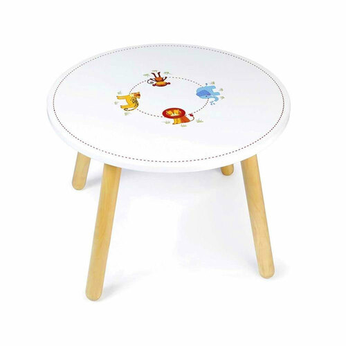 Tidlo Wooden Table - Jungle Animal