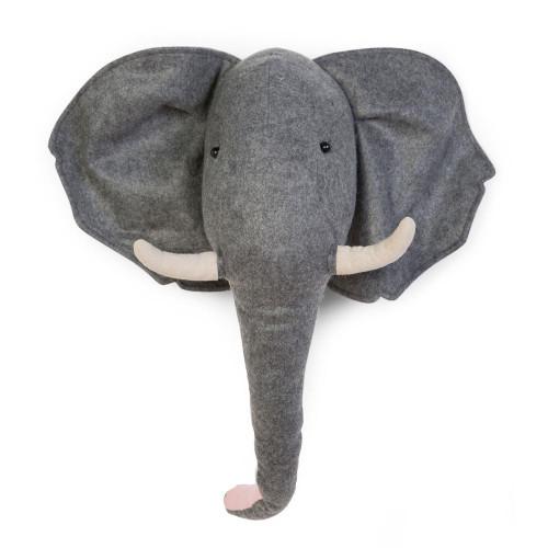 Childhome Felt Animal Head Wall Deco - Elephant