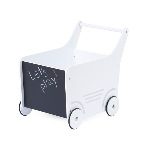 Childhome Wooden Stroller - White