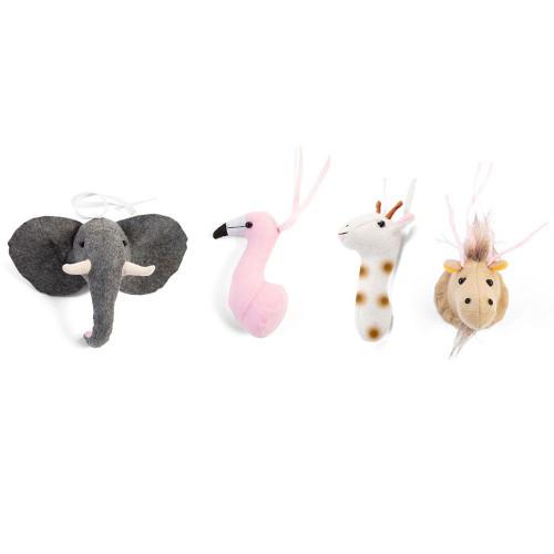 Childhome Tipi Play Gym Toys Set - Animal