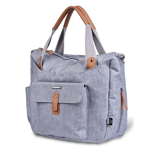 Bababing Roma 2 Changing Bag - Grey