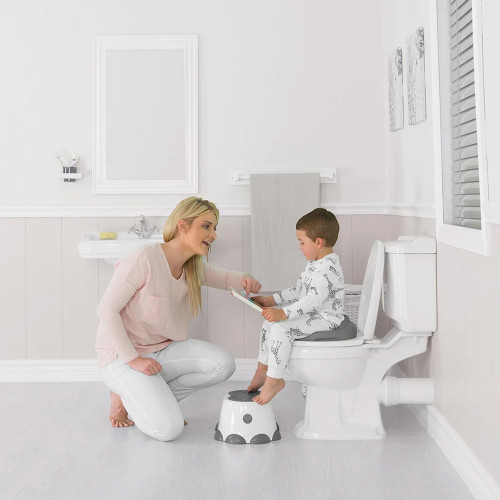 Bumbo Toilet Trainer - Cool Grey