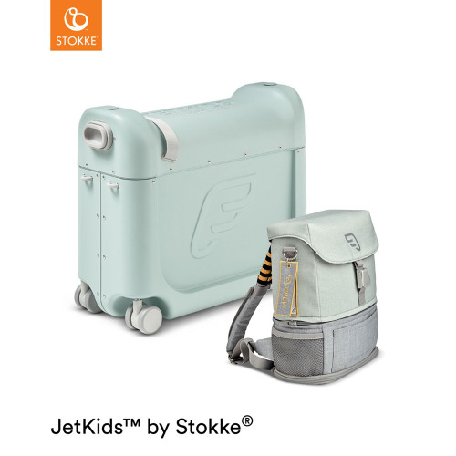JetKids™ by Stokke®Travel Bundle - Green Aurora