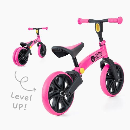 Yvolution Y Velo Junior Balance Bike - Pink