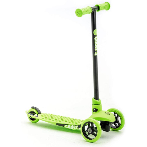 Yvolution Y Glider Air Kids Scooter - Green