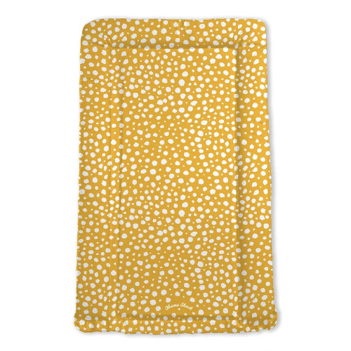Mama Shack Flat Changing Mat - Mustard Spotty