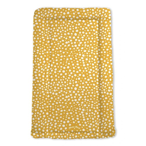Mama Shack Flat Changing Mat - Mustard Spotty