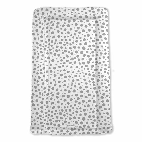 Mama Shack Flat Changing Mat - Grey Spotty