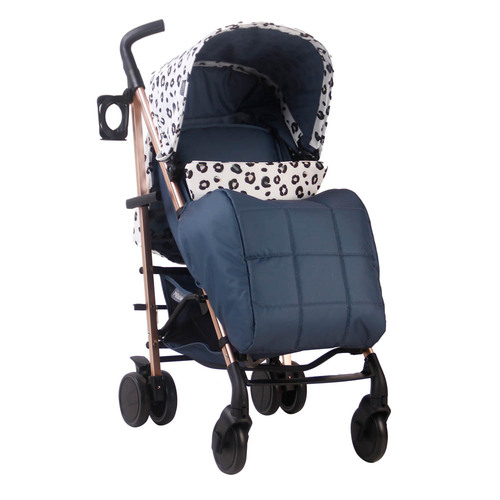 My Babiie MB51 Stroller - Nicole Snooki Polizzi MAWMA/Leopard