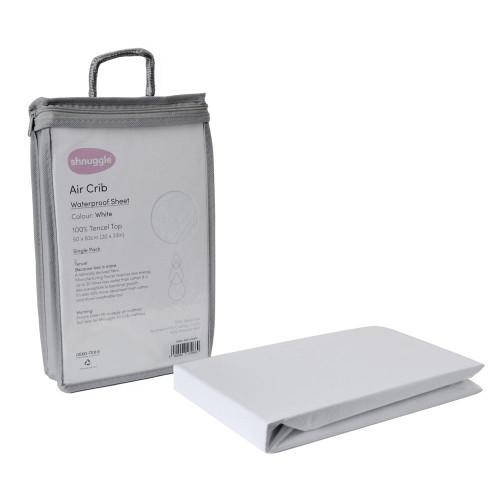 Shnuggle Air Crib Waterproof Sheet