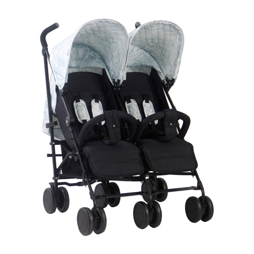 My Babiie MB22 Twin Stroller - Nicole Snooki Polizzi MAWMA/Marble