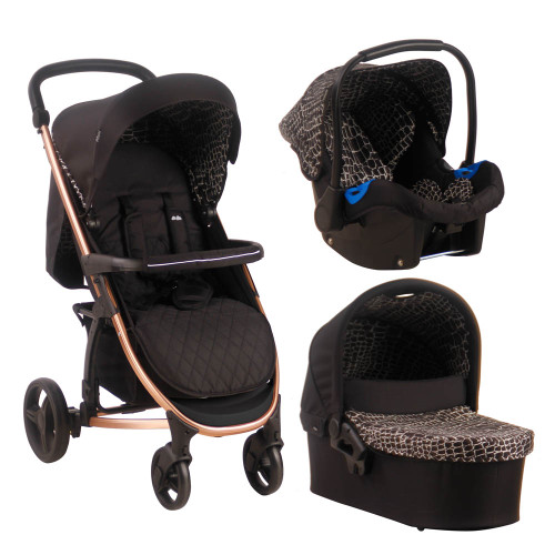 My Babiie MB200+ Travel System - Samantha Faiers/Aligator Print