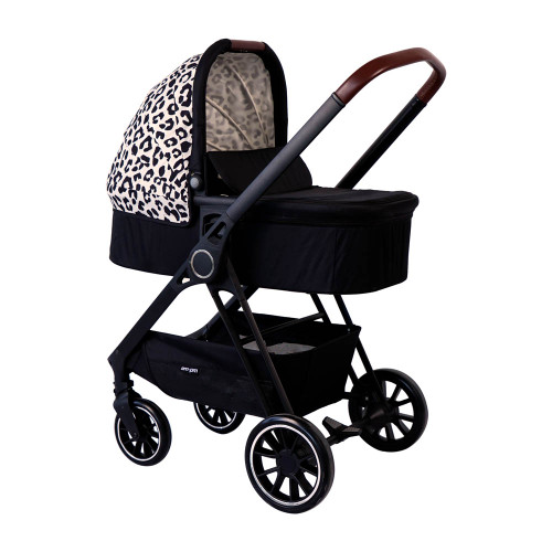 My Babiie MB250 Travel System - Christina Milian AM to PM/Leopard Victoria