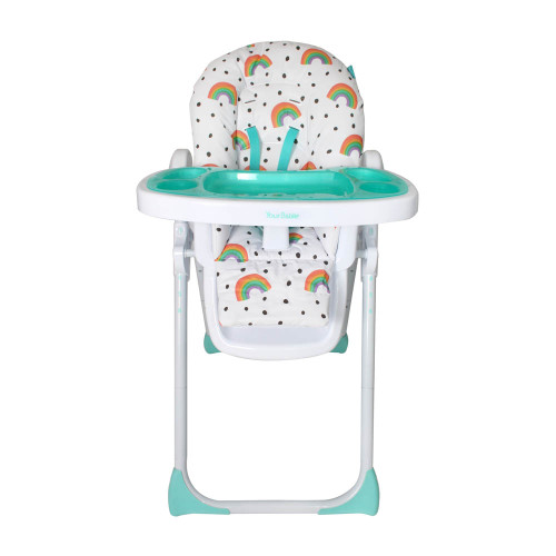 My Babiie Rainbow Premium Highchair