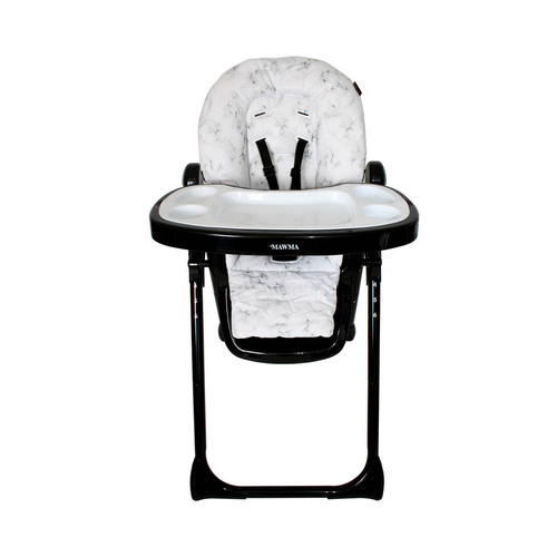 My Babiie Premium Highchair - Nicole Snooki Polizzi MAWMA/Marble