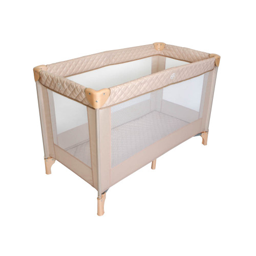 My Babiie Travel Cot - Blush Quilted