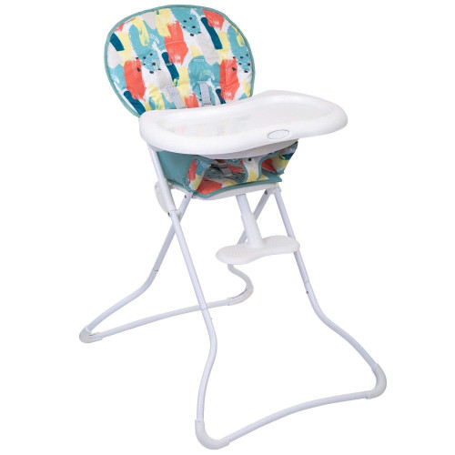 Graco Snack N' Stow Highchair - Paintbox