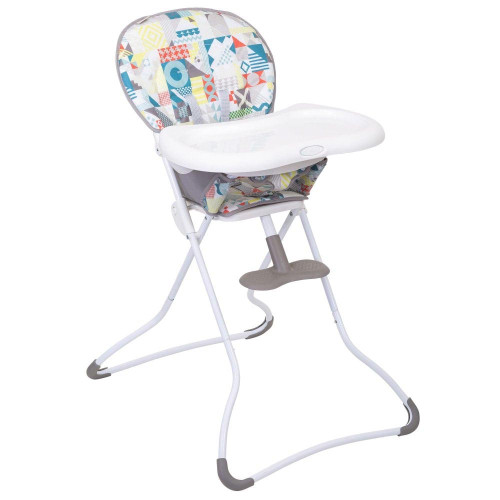 Graco Snack N' Stow Highchair - Patchwork