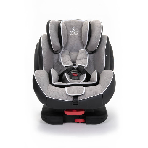 Ickle Bubba Solar Group 123 ISOFIX Car Seat - Light Grey