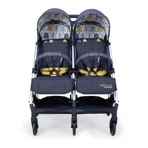 Cosatto Woosh Double Stroller - Fika Forest