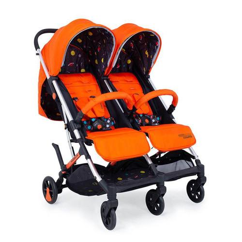 Cosatto Woosh Double Stroller - Spaceman