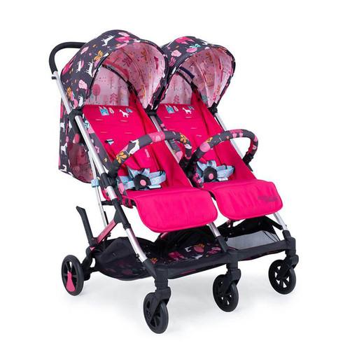 Cosatto Woosh Double Stroller - Unicorn Land