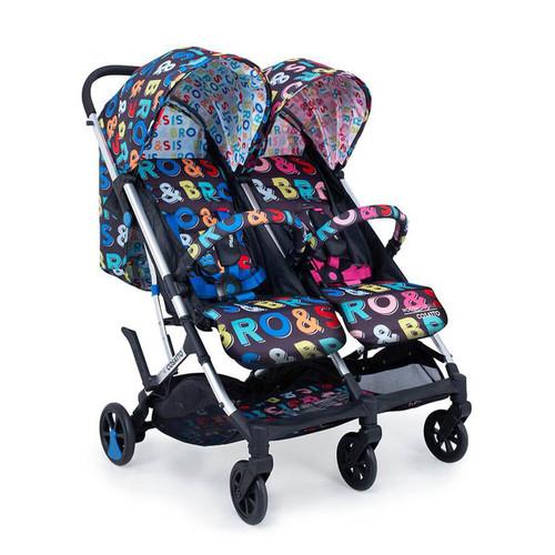 Cosatto Woosh Double Stroller - Sis & Bro