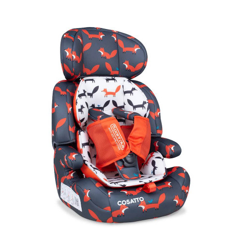 Cosatto Zoomi Group 123 Car Seat - Charcoal Mister Fox