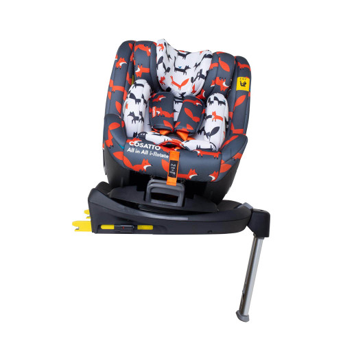 Cosatto All in All I-Rotate 0+123 Car Seat - Charcoal Mister Fox